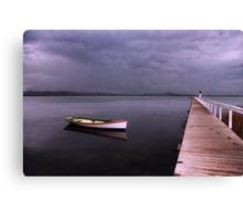 As the rain clouds descend Canvas Print