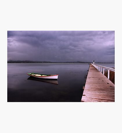 As the rain clouds descend Photographic Print