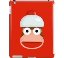 ape escape - monkey iPad Case/Skin
