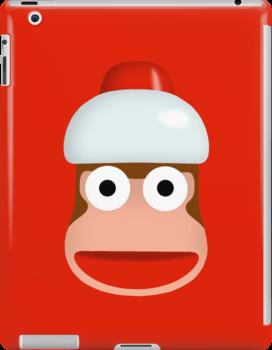 ape escape - monkey by o0otnto0o