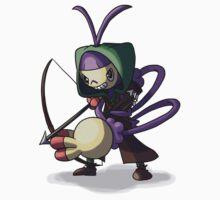 Final Fantasy - Ambipom Archer by Yena-Kiachi
