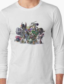 Final Fantasy Pokemon Collection Group Set 1 Long Sleeve T-Shirt