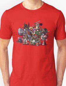 Final Fantasy Pokemon Collection Group Set 1 Unisex T-Shirt