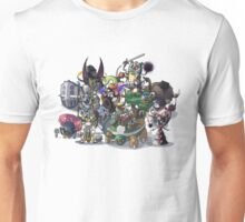 Final Fantasy Pokemon Collection Group Set 1 Unisex T-Shirt