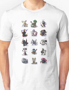 Final Fantasy Pokemon Collection Set 1 T-Shirt