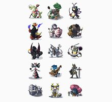 Final Fantasy Pokemon Collection Set 1 Unisex T-Shirt