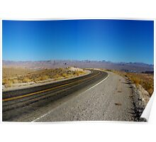 Northshore Road, Lake Mead, Nevada Poster