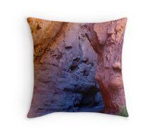 Multicolored slot canyon, Utah Throw Pillow