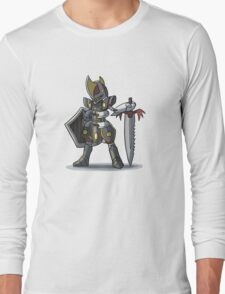 Final Fantasy - Bisharp Warrior Long Sleeve T-Shirt