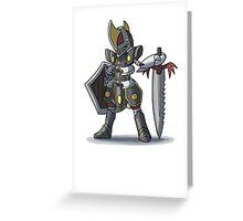 Final Fantasy - Bisharp Warrior Greeting Card