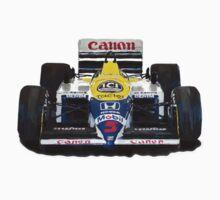 Williams F1 FW11 - 1987 by Lynchie