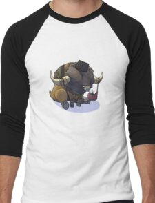 Final Fantasy - Bouffalant Scholar Men's Baseball ¾ T-Shirt