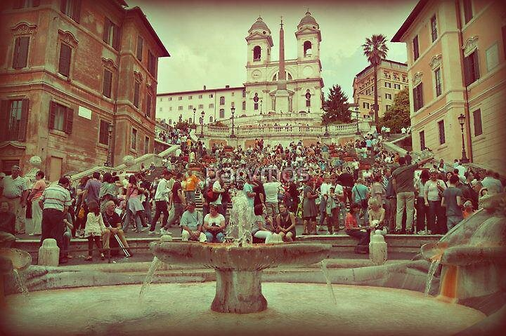 Piazza di Spagna, Rome by parvmos