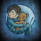 Sleeping by Ine Spee