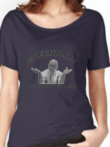 Greendale Community College - Dean Pelton Women's Relaxed Fit T-Shirt