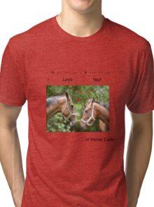 HORSE CODE  Tri-blend T-Shirt
