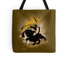 Super Smash Bros. Brown Duck Hunt Dog Silhouette Tote Bag