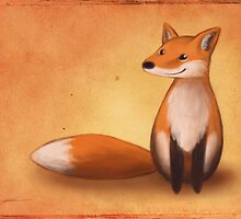 Smiling Fox by Ine Spee