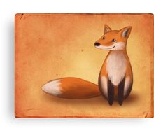 Smiling Fox Canvas Print