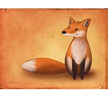 Smiling Fox Photographic Print