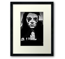 Can You Read Me? Framed Print
