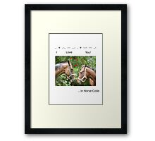 DAY 357 - 365 DAY PROJECT - 'ONE DAY AT A TIME' Framed Print
