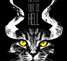 Like a cat out of hell by monsterplanet