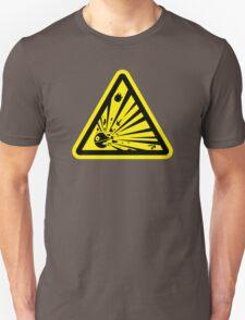 Danger Explosive Battle Station T-Shirt