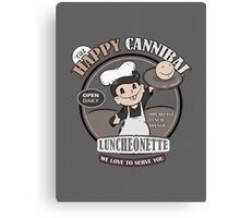 The Happy Cannibal Canvas Print