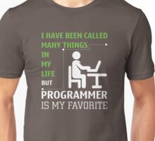 Programmer is my Favorite Unisex T-Shirt