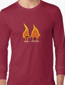 Naked Flames Long Sleeve T-Shirt