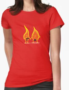 Naked Flames Womens T-Shirt