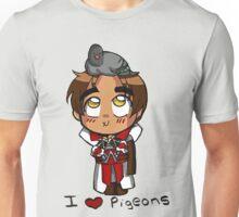 I Love Pigeons Unisex T-Shirt