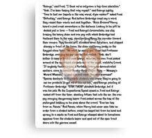 Fred and George Weasley Canvas Print