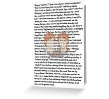 Fred and George Weasley Greeting Card