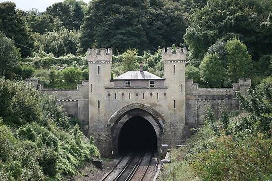 Clayton Tunnel, Clayton Sussex by Maxine Collins