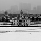 Snow in Greenwich by Edward Bozzard