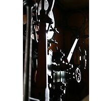 Steam train engine Photographic Print