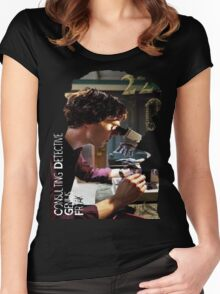 Sherlock - Consulting Detective Women's Fitted Scoop T-Shirt
