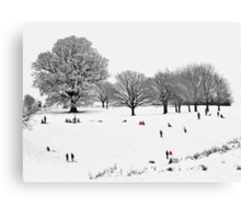 Tribute To Lowry Canvas Print