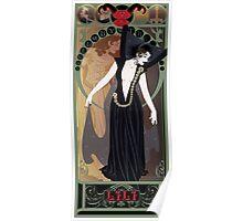 Dark Lili Nouveau - Legend Poster