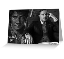 Martin Freeman - The Hobbit Greeting Card