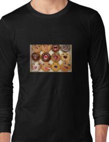 Freaking Donuts Long Sleeve T-Shirt