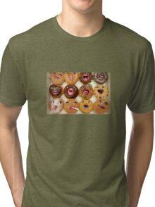 Freaking Donuts Tri-blend T-Shirt