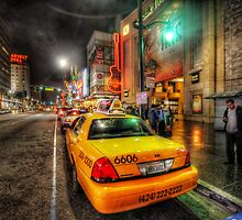 Hollywood Boulevard by Yhun Suarez