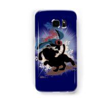 Super Smash Bros. Blue Duck Hunt Dog Silhouette Samsung Galaxy Case/Skin
