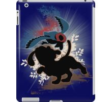Super Smash Bros. Blue Duck Hunt Dog Silhouette iPad Case/Skin