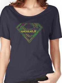 Angular.js Superman T-shirt & Hoodie Women's Relaxed Fit T-Shirt