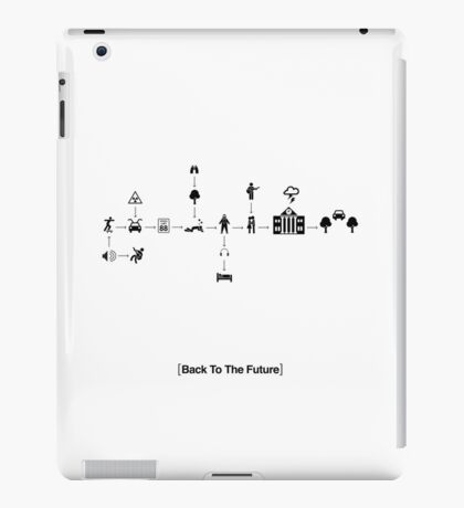 Back To The Future Pictogram Story  iPad Case/Skin