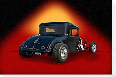 1930 Hudson Hot Rod Coupe by DaveKoontz